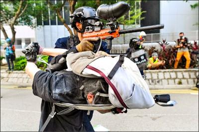 中國今國慶 港人號召國殤大遊行