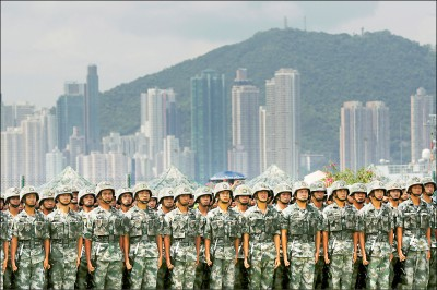 增兵清場? 路透:駐港解放軍增逾1倍