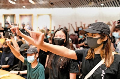 港府打壓示威 擬頒《禁蒙面法》