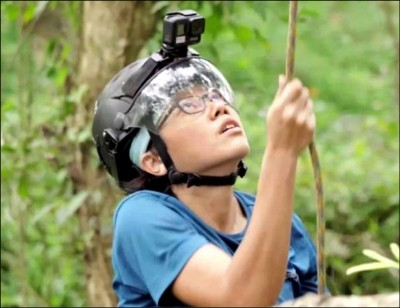 爬樹、採種 女孩們守護台灣山林