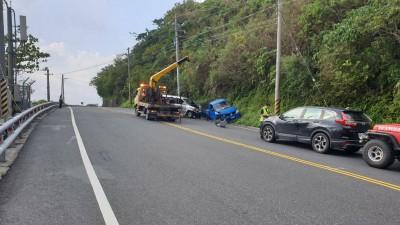 疑閃避來車與對向車對撞 蘇花145K事故恢復通行