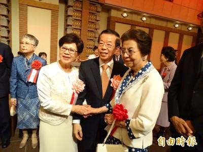 「這就是外交」謝長廷:日方沒說國慶賀電是「假的」