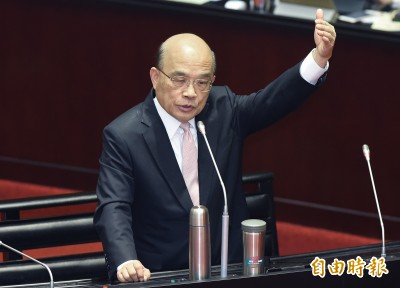 駐福岡處公布日相祝「中華民國」國慶賀電遭打臉 蘇揆:應該查處