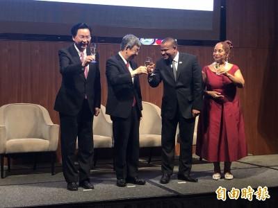 陳建仁與貝國副總理同慶建交週年:期待下一個30年