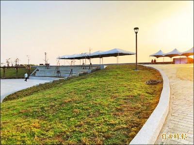 茄萣海岸公園去年完工 韓國瑜上任10個月未開放