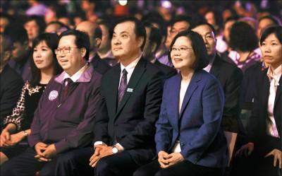 今發表國慶談話 蔡:提振台灣人的國家自信