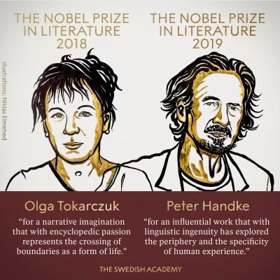 2018、2019諾貝爾文學獎 波蘭、奧地利作家獲獎