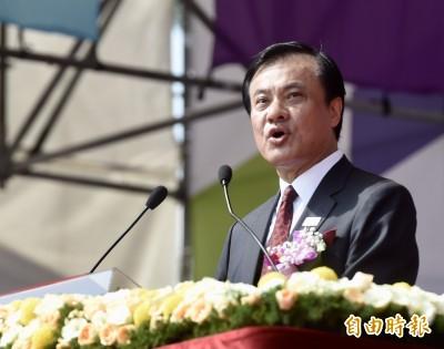 國慶大會 蘇嘉全:自由精神是台灣人共同的驕傲