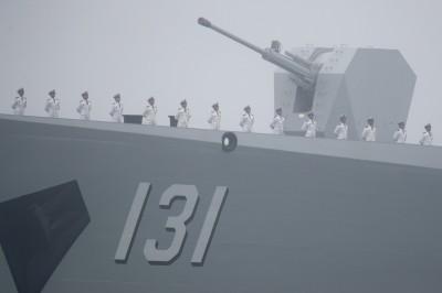 相隔10年! 中國軍艦「太原」抵日 首次參加國際閱艦式