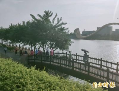科學園區的後花園 南科迎曦湖美景吸客