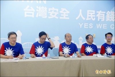 公布兩岸政策 韓國瑜轟蔡英文:仇中害台愛自己