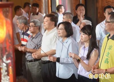 韓國瑜批兩岸關係失控 小英:國民黨不敢批中只會對內開砲