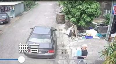 各位老闆當心!男從屏東偷到基隆 誆買商品搬上車一秒落跑