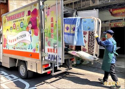 台南到宅乾燥車 免費為弱勢不便者服務