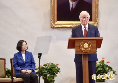 張忠謀三度出任APEC領袖代表 可望與川普、習近平等領袖互動