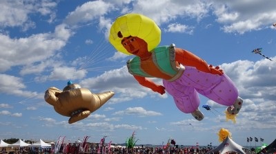 桃園國際風箏節19、20日童樂 西遊記、阿拉丁上演空中劇場