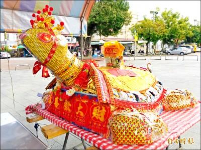停辦5年 台南市歸仁區仁壽宮恢復「博大龜」