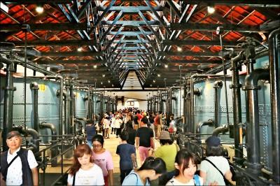 台南市雙十連假湧人潮 4天逾40萬人次