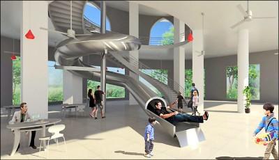 明年八月完工 南寮旅服中心變兒童樂園