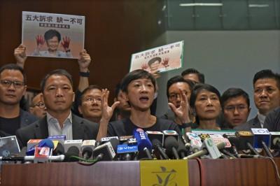 指林鄭已無治港能力 陳淑莊:盡快辭職讓香港繼續前行