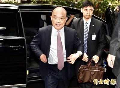 韓嗆做不好「一頭撞死」 蘇揆:沒看過這種程度總統候選人
