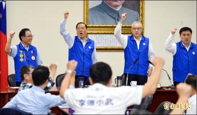 國民黨提名草案下週三提報》吳敦義曾永權 搶進不分區