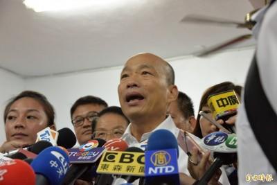 藍委爆美國洩「5道考題」給韓國瑜 韓陣營駁斥:不是事實
