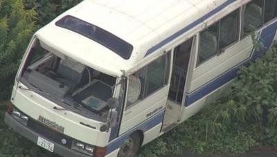 驚!日本小巴載有18名幼童墜落堤防 7人送醫治療