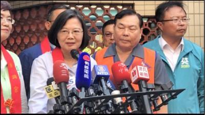 台灣沒有放棄! 蔡:國人應思考 香港為何放棄管轄權