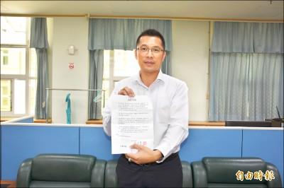 雲縣副議長蘇俊豪 退出民進黨