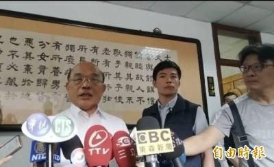 韓國瑜酸綠營官員「白白胖胖」 蘇揆:不要人身攻擊