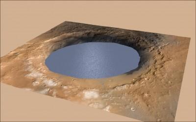 中日對照讀新聞》太古火星の水、塩味だった 遠古時代的火星曾有「鹽味」的水