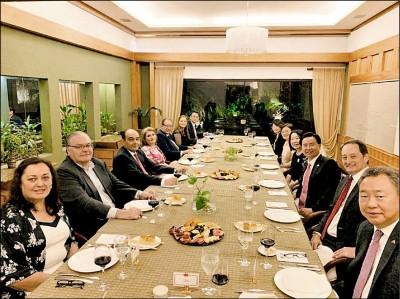 美駐巴拉圭大使出席台灣晚宴 吳釗燮:台巴美有共享價值