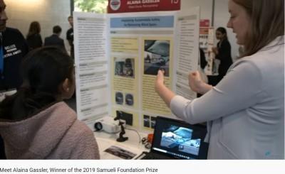 14歲少女解決汽車A柱視線死角問題 摘下科技創新競賽冠軍