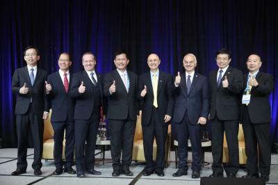 飛安高峰會在台登場 林佳龍:中國沒參加是損人不利己