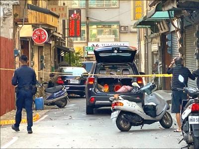 賓士狂飆關西市區 拒檢撞傷警逃逸