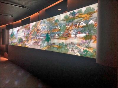 【藝術文化】數位故宮前進衛武營 穿越時空體驗清明上河圖