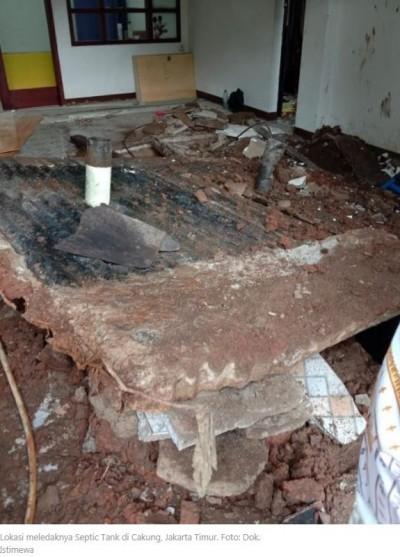點燃報紙丟入化糞池  印尼水肥工被炸死