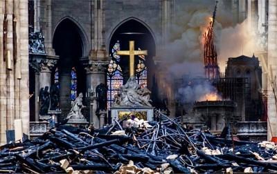 世界遺產巴黎聖母院重建將與中國合作
