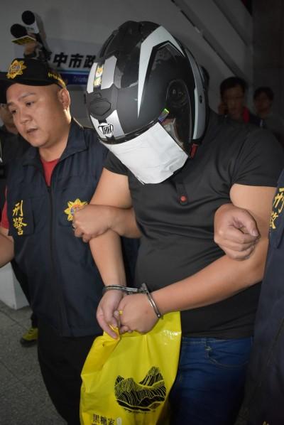 台中3屍案兇手陳宏嘉裁定羈押 檢方:有逃亡滅證事實