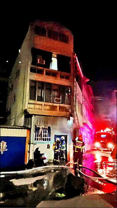 移工租處火警 受困14人獲救