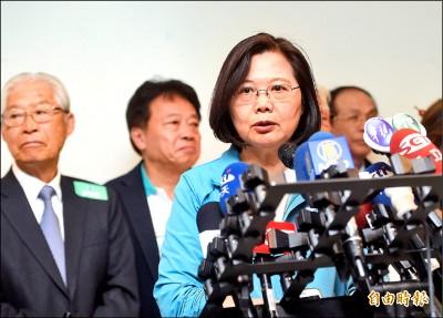 韓再提匈奴說 蔡:掠奪國家變黨產的是國民黨