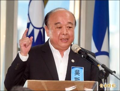 稱「一生捍衛中華民國」吳斯懷:但不是蔡英文口中的中華民國台灣