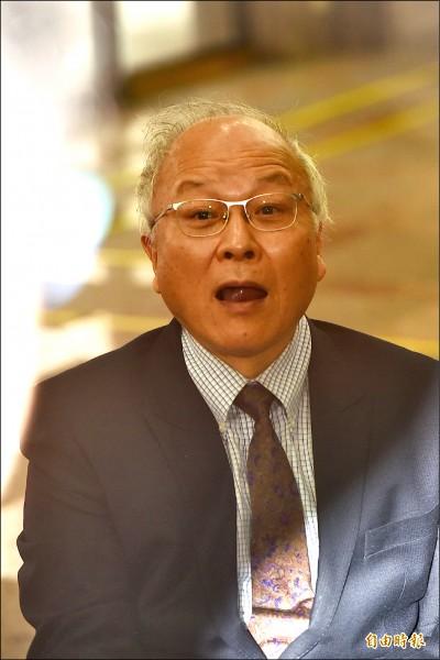 現身中選會 郭冠英:代表共產黨監督台灣選舉