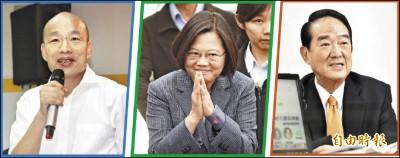 本報民調》蔡:爭取最大支持 韓:看民心