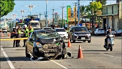 超跑自撞沒等警察 產險主管8百萬理賠飛了