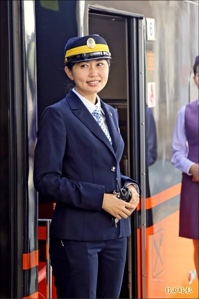台鐵小林志玲 列車長明星臉好靚
