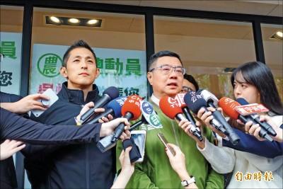 韓國瑜扯邱義仁導演「兩顆子彈」立委轟利用政見會造謠