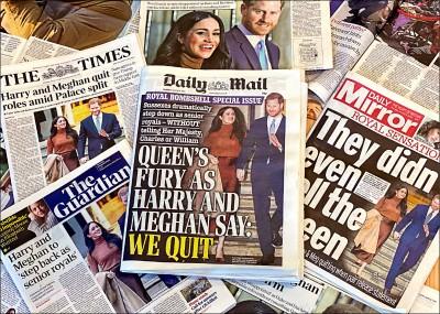 震撼! 哈利夫婦宣告半退出王室