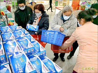 台灣口罩進口 九成來自中國